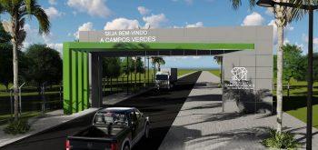Campos Verdes ganhará portal na entrada da cidade