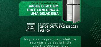 Programa Nota Fiscal e IPTU Premiados
