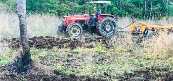 Serviço gratuito garante preparo de solo de pequenas propriedades rurais em Campos Verdes